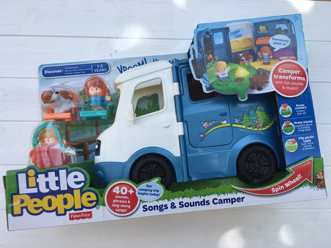 Детская игрушка Fisher-Price Little People Songs & Sounds Camper