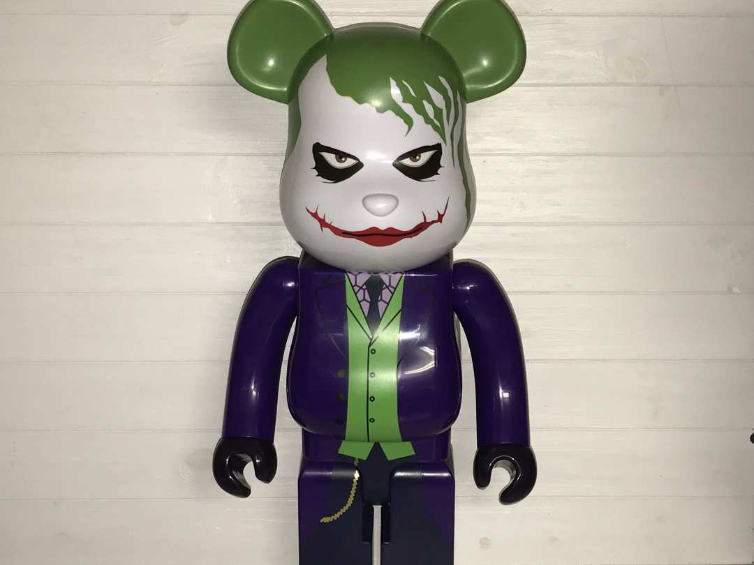Игрушка MEDICOM Bearbrick, The Joker
