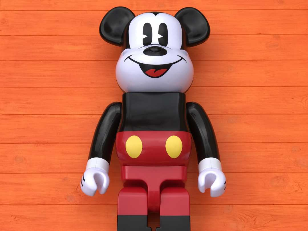 Игрушка MEDICOM Bearbrick, Disney Mickey Mouse